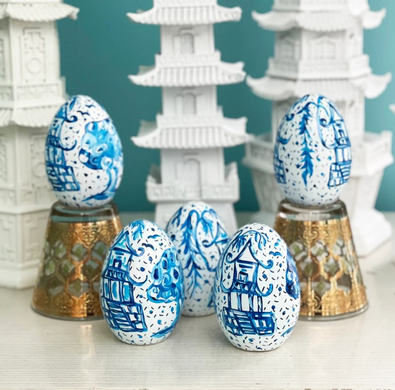 Chinoiserie Easter Ideas