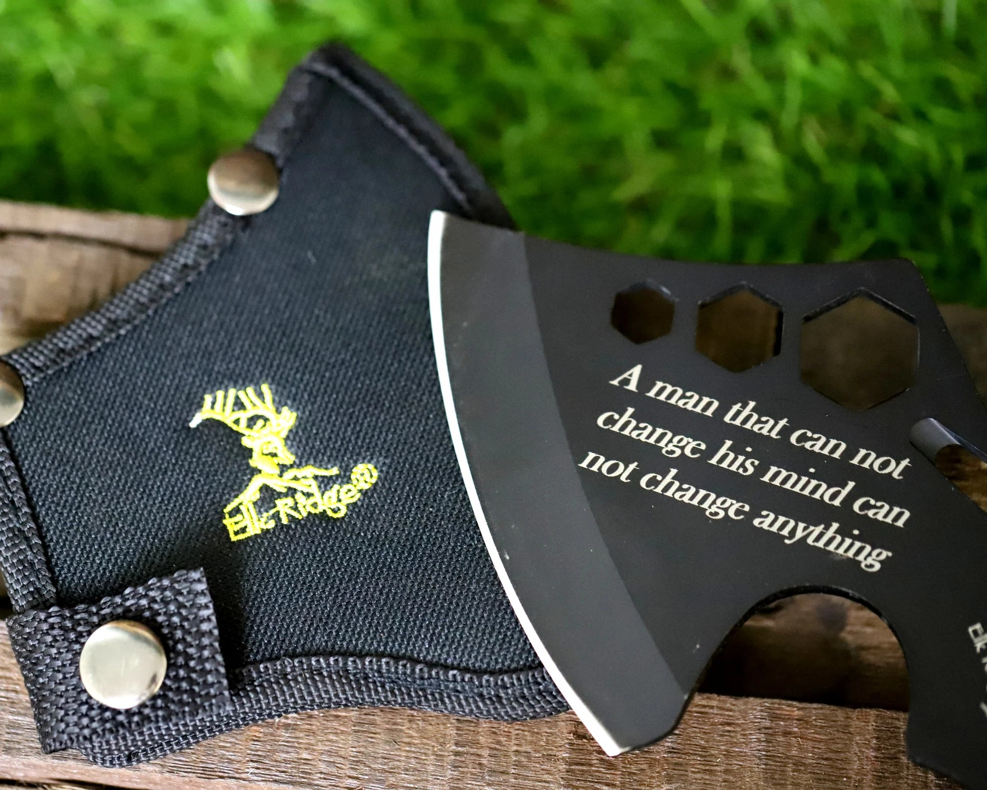 Personalized Hatchet for Groomsmen Personalized Throwing Axe image 3