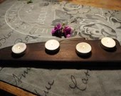 Tea light holder wood shipping and pick-up!