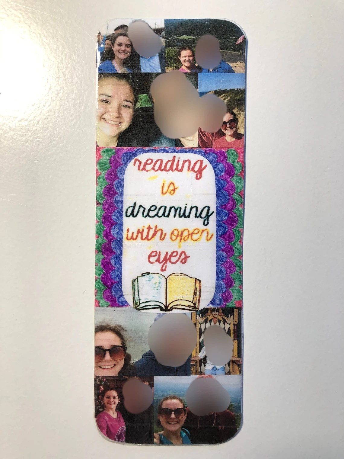 Personalized picture bookmark // Bookmarks // Personalized image 0