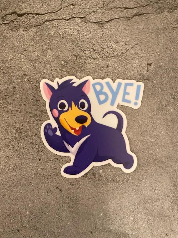 Bye Dog Meme : Stickeritem197
