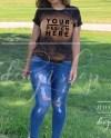 Model Bleached Black Bella Canvas 3001 Mockup T Shirt Mock Up Etsy