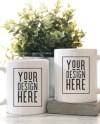 His And Hers Coffee Mug Mockup Couples Coffee Cup Mockup Etsy