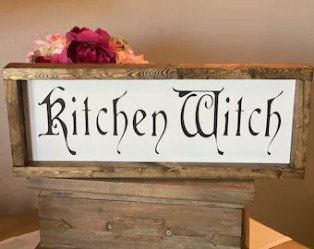 Witch wood sign Etsy