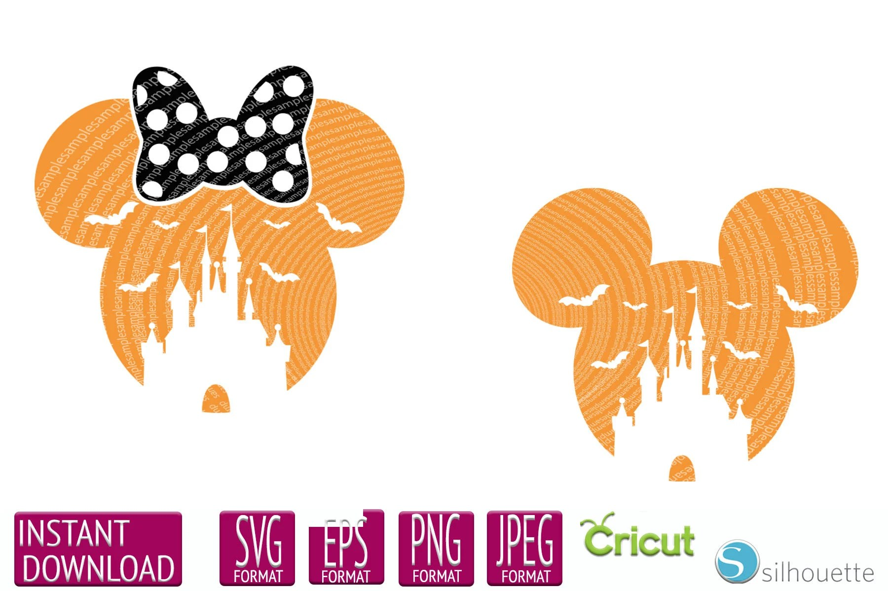 We may earn commission from links on this page, but we only recommend pro. Boo Bash Halloween Svg Mickey Mouse Svg Minnie Mouse Svg Etsy