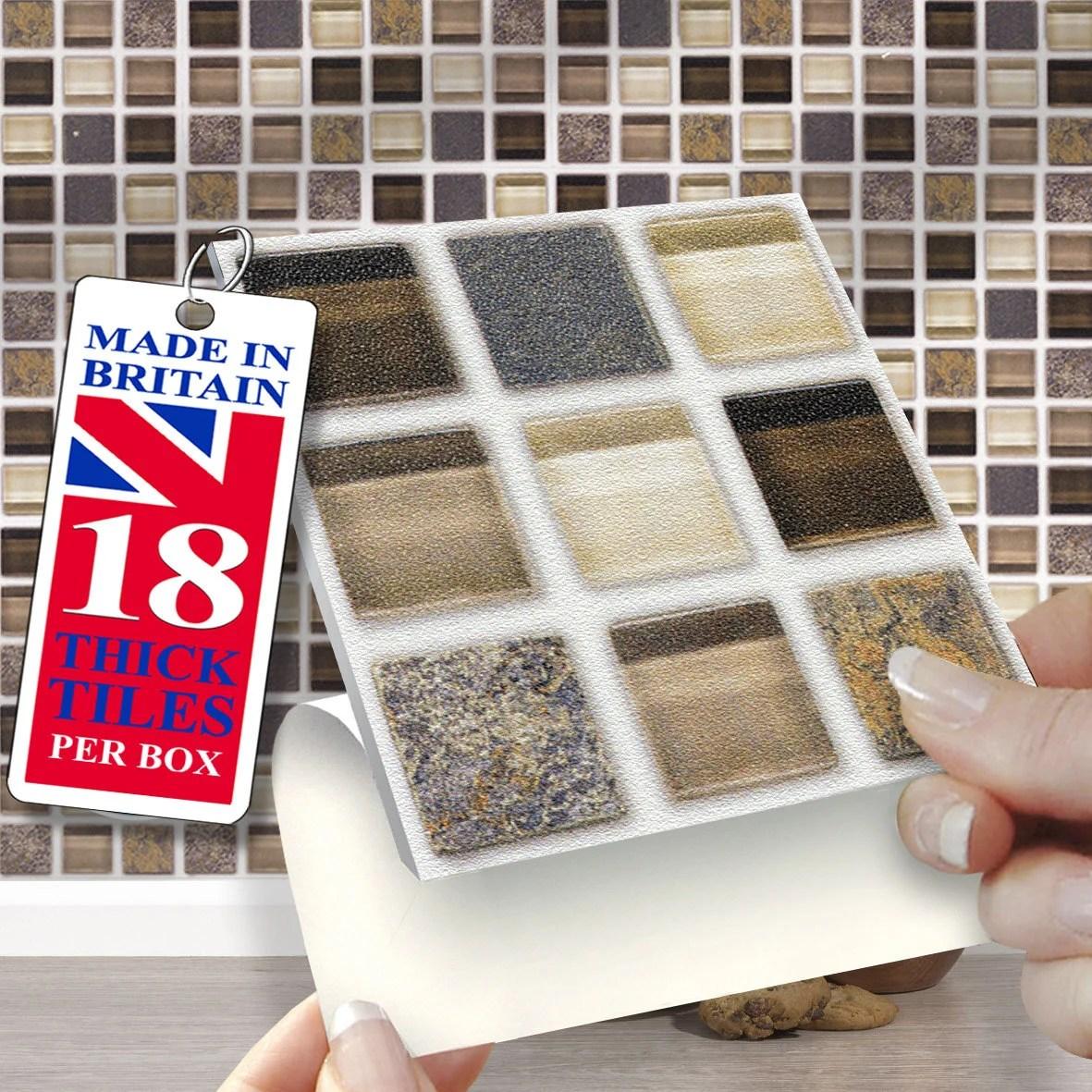 4x4 glass tile etsy