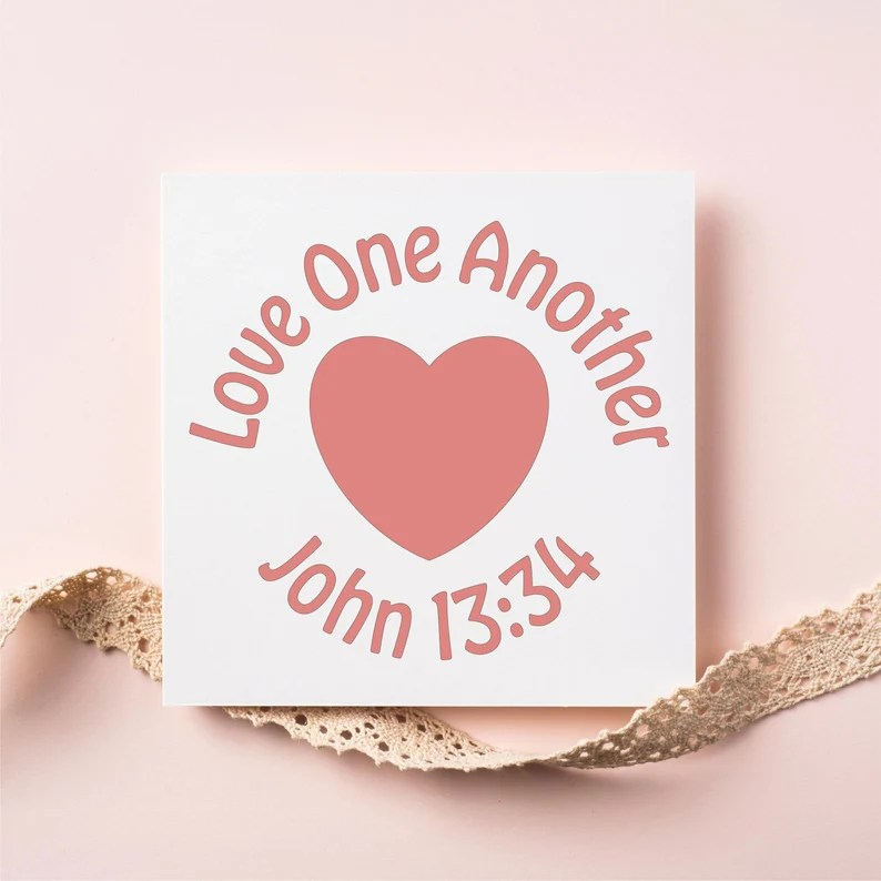 Download Love One Another SVG Cut File for Cricut or Silhouette ...
