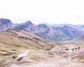 Rainbow Mountain Hikers, Peru