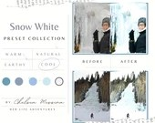 9 Mobile Lightroom Preset SNOW WHITE Travel Blogger Instagram Lifestyle Photography