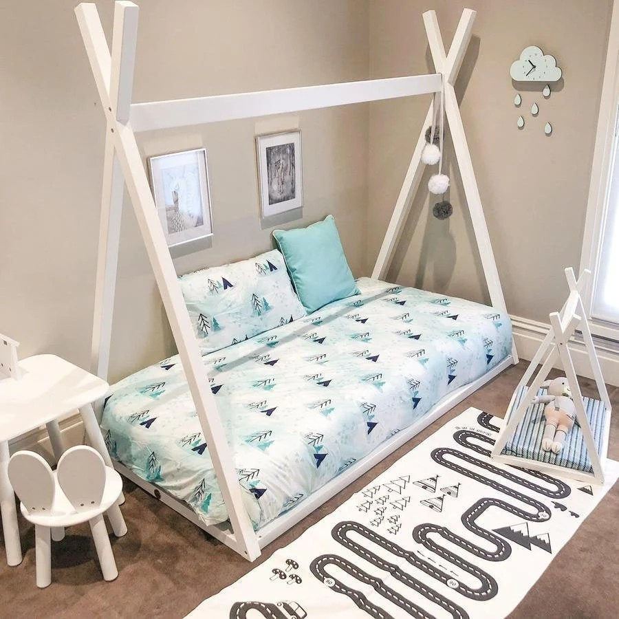 Tee Pee Floor Bed