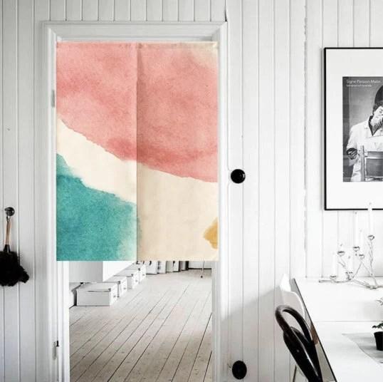 noren doorway curtain japanese curtain japanese tapestry panel curtain door curtain noren curtain nordic door