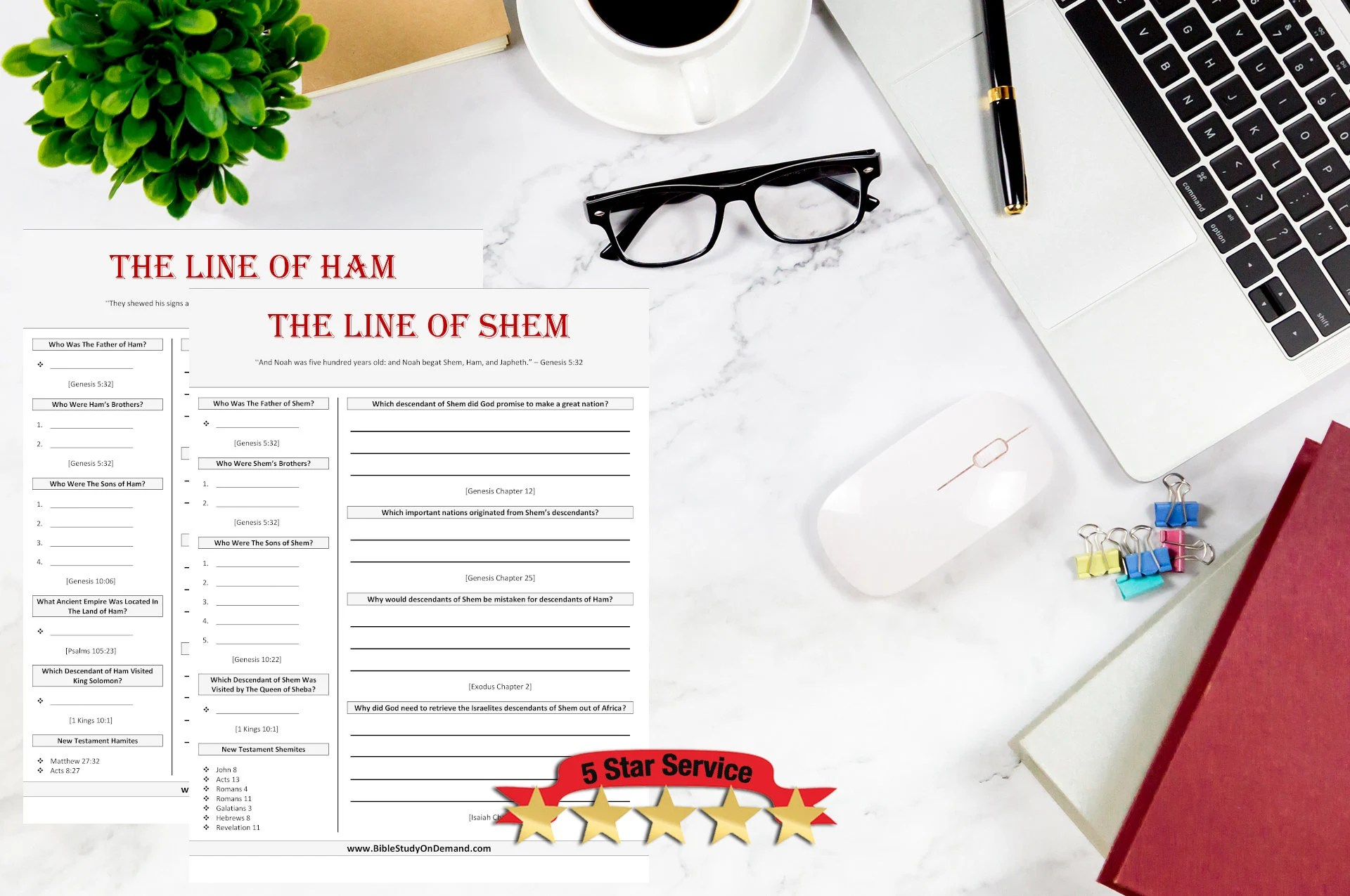 The Genealogy Starter Pack 5 Bible Study Worksheets Save