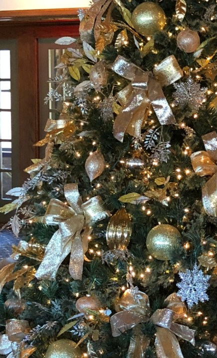Christmas bows ribbon Christmas tree image 0
