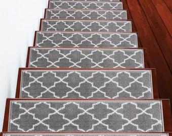 Stair Treads Etsy   Custom Carpet Stair Treads   Bullnose Carpet   Oak Valley   Dog Assist   Braided Rug   Anti Slip