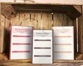 Emotional Wellness Journal Sheets