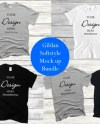 Gildan 5000 Mock Up Bundle T Shirt Shirt Bundle Mockup Black Etsy