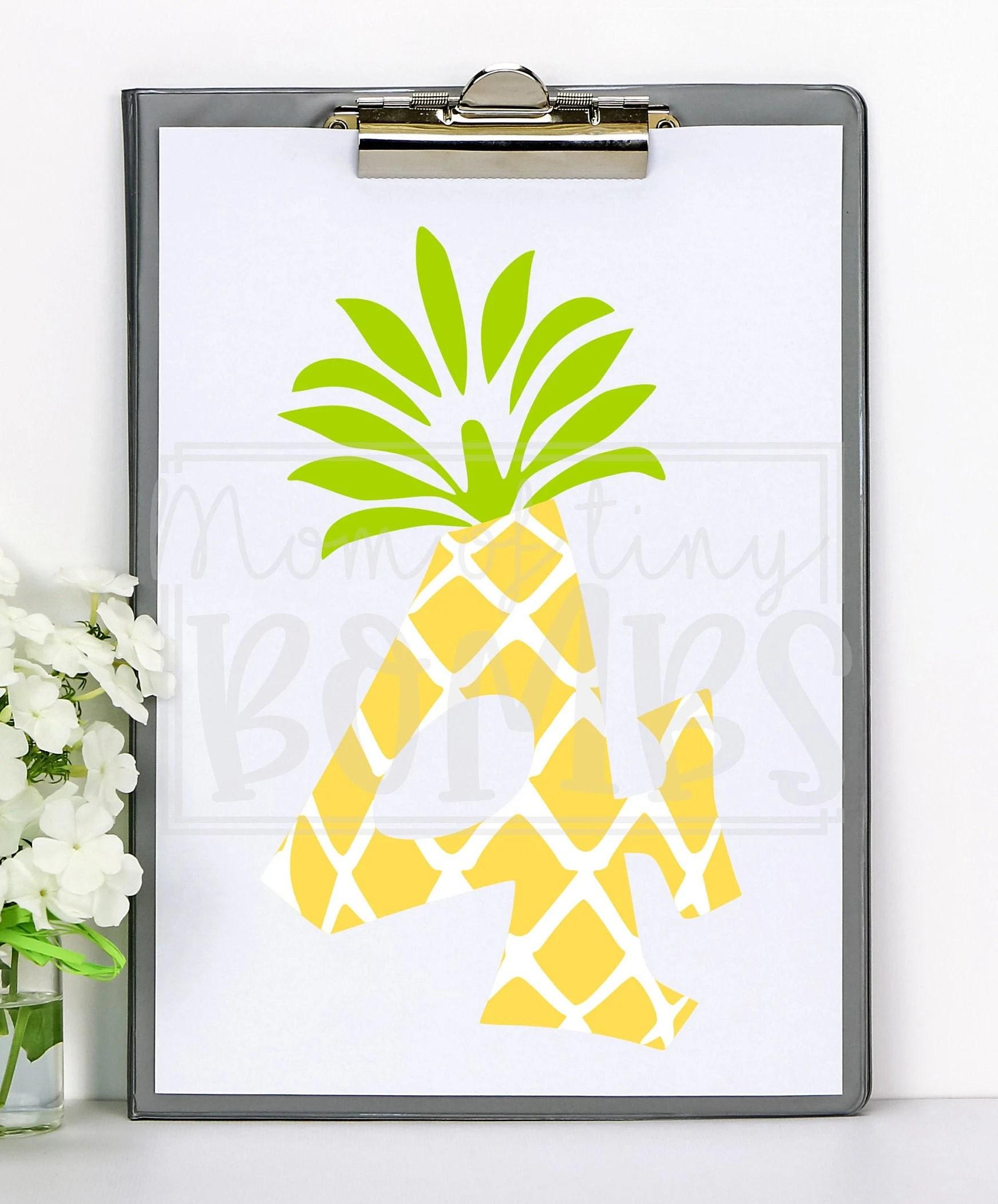 Luau Svg : Fourth, Birthday, Pineapple