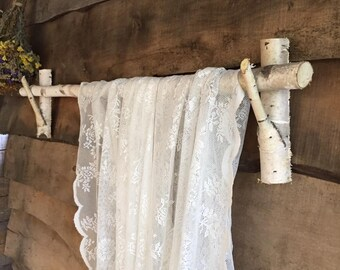 branch curtain rods etsy