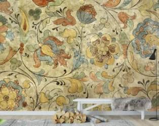 Medieval wallpaper Etsy