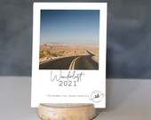 Kalender 2021 A6, Tischkalender 2021 Holz, Fine Art Fotokalender, Kunstdruck Fotografie, Postkartenkalender 2021 A6, Foto Kalender