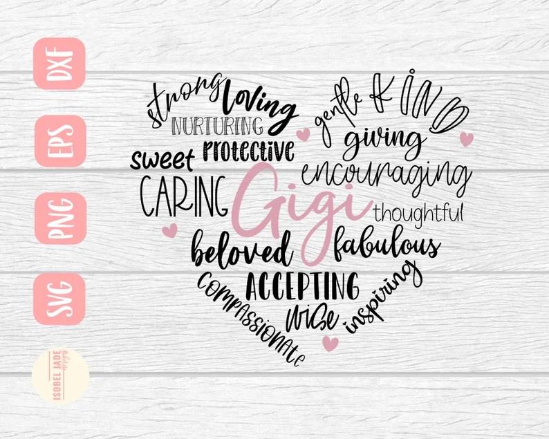 Download Best Gigi svg Gigi svg Shirt I love my grandkids svg heart ...