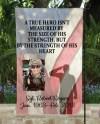 A True Hero Solider Memorial Garden Flag Digital Download Png Etsy