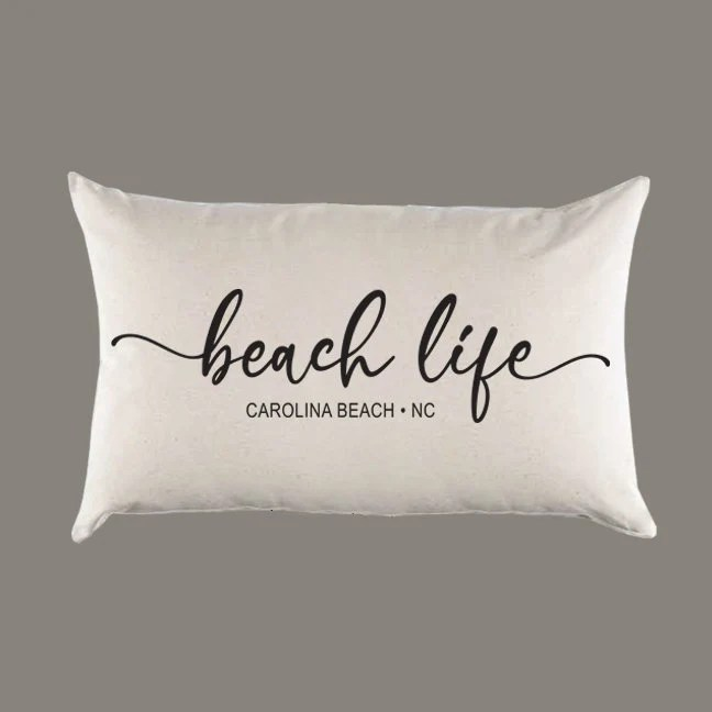 beach pillow cover etsy
