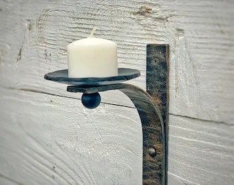 iron wall sconce etsy