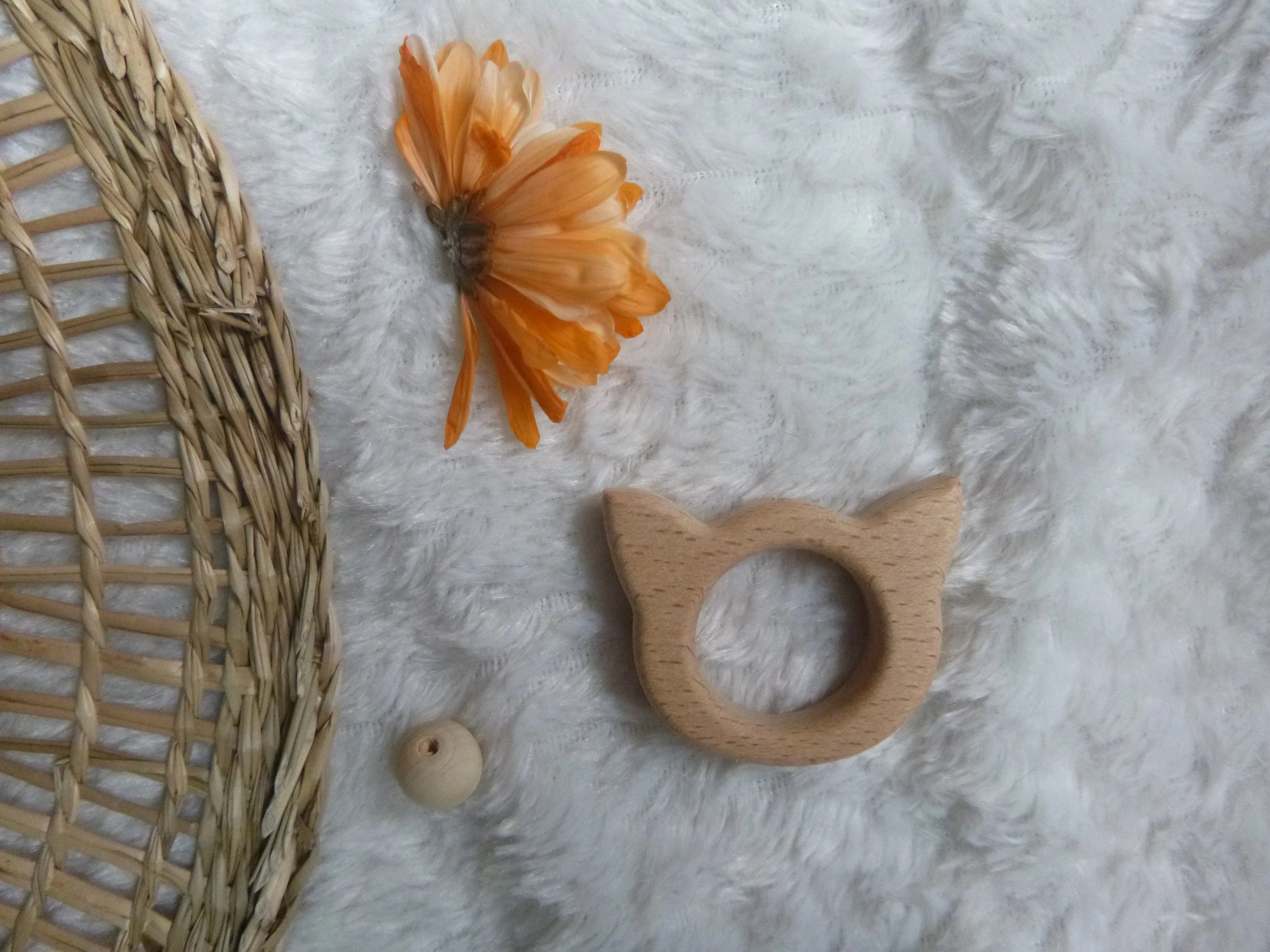 customize your teething ring ring to choose boho natural chat