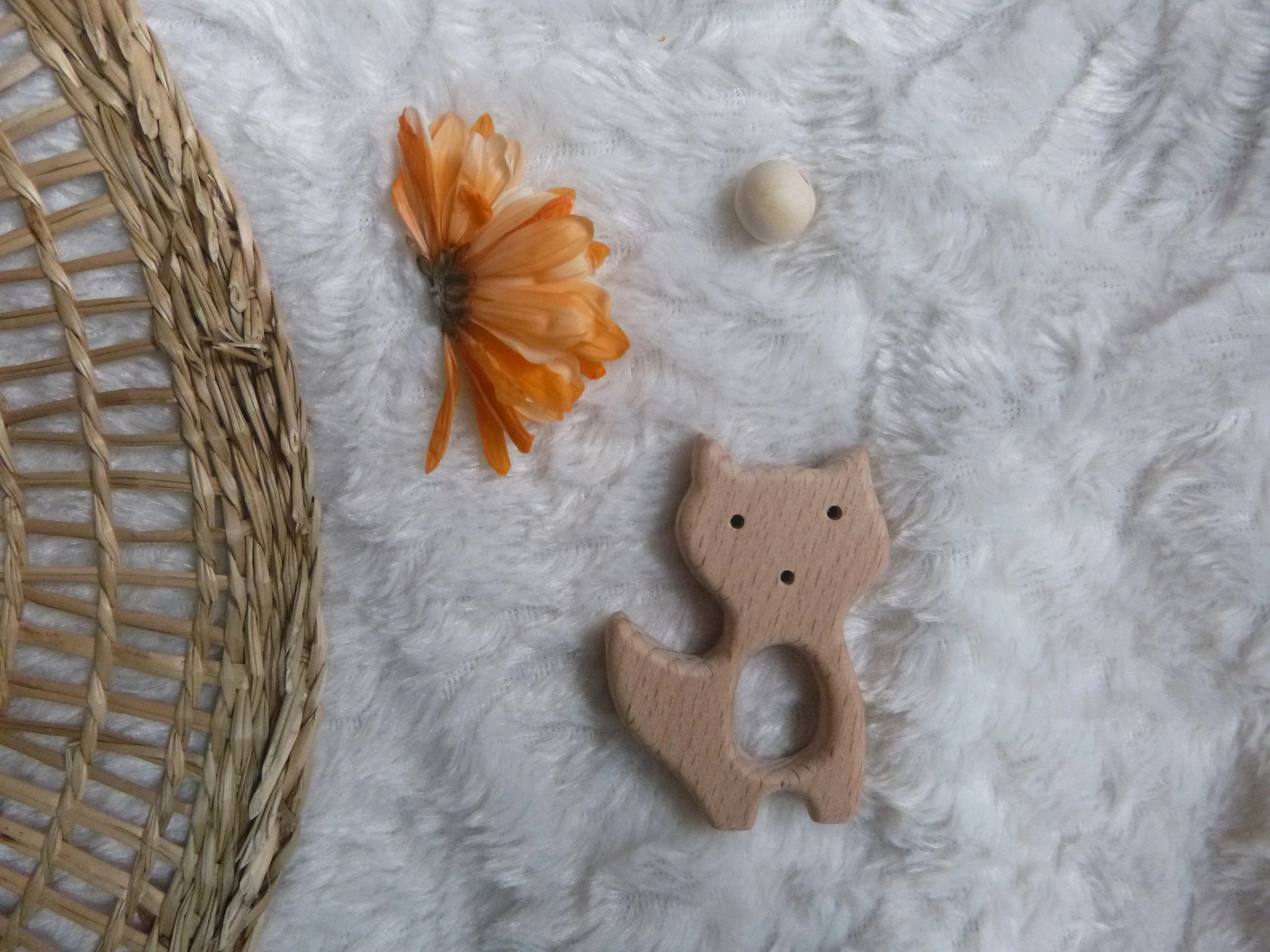 customize your teething ring ring to choose boho natural renard
