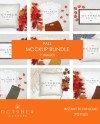 Mockup Bundle Fall Fall Decor Mockup Bundle Autumn Mockup Etsy
