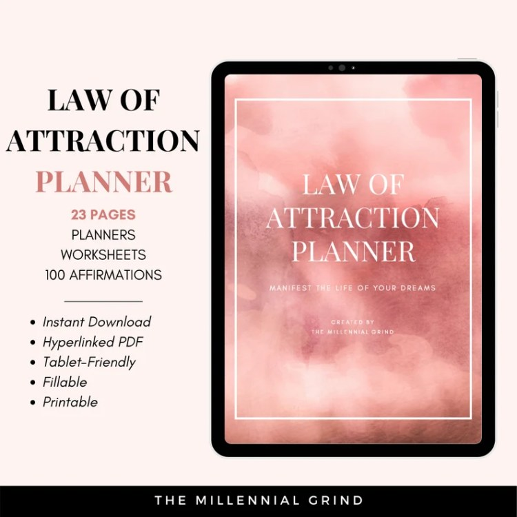 Law of Attraction Planner  Law of Attraction Journal  image 0