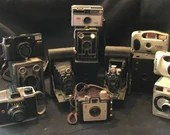 14 Vintage Film and Movie Cameras