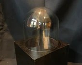 Cloche dome (no base) 7 inches tall X 5.75 inch dia.