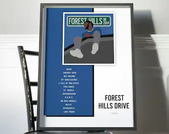 forest hills drive etsy