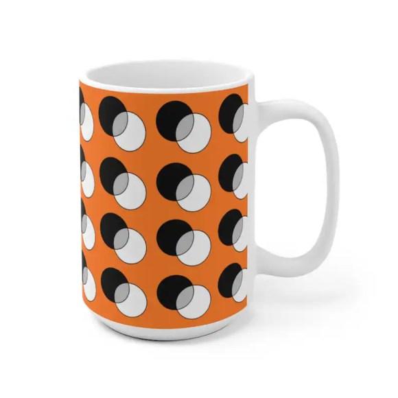 Cool Art Mug 2 sizes 64  Retro custom gift unique mugs with image 0