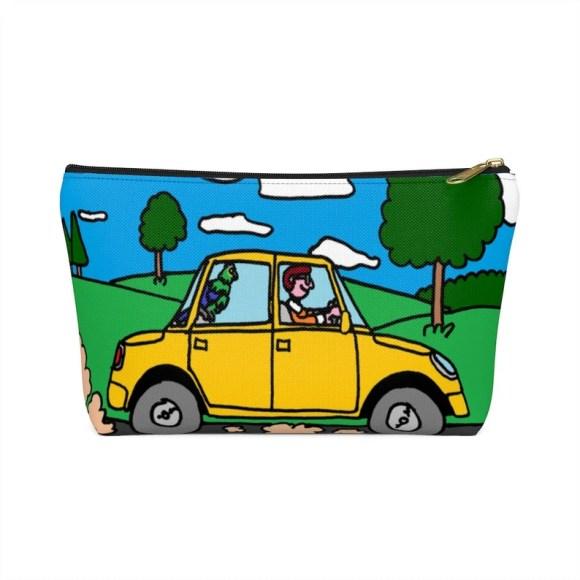 Urban Art Zipper Pouch T-bottom 2 sizes 8  Retro custom image 0
