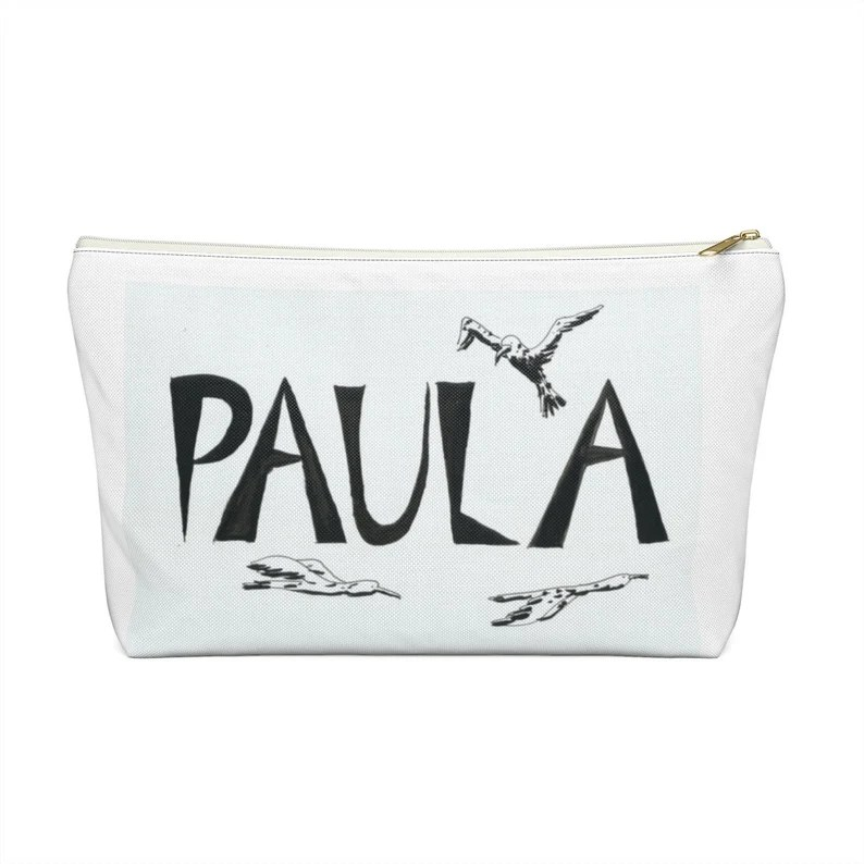 Personalized Zipper Pouch T-bottom 2 sizes  Find pencil image 0
