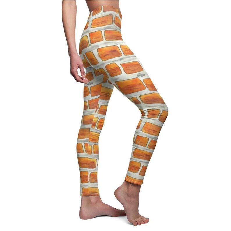 Cool Art Leggings 4  Retro custom gift aesthetic line art image 0