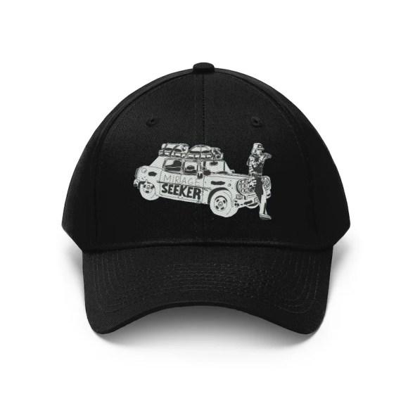Cool Art Twill Hat 10 colors 4  Retro custom gift pop art image 0