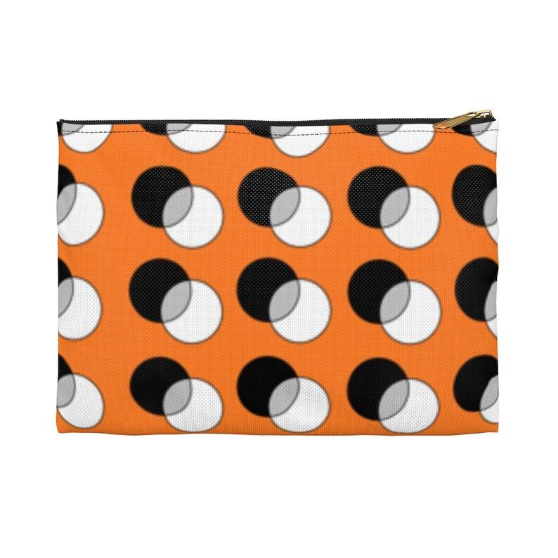 Cool Art Zipper Pouch 2 sizes 5  Retro custom gift image 0
