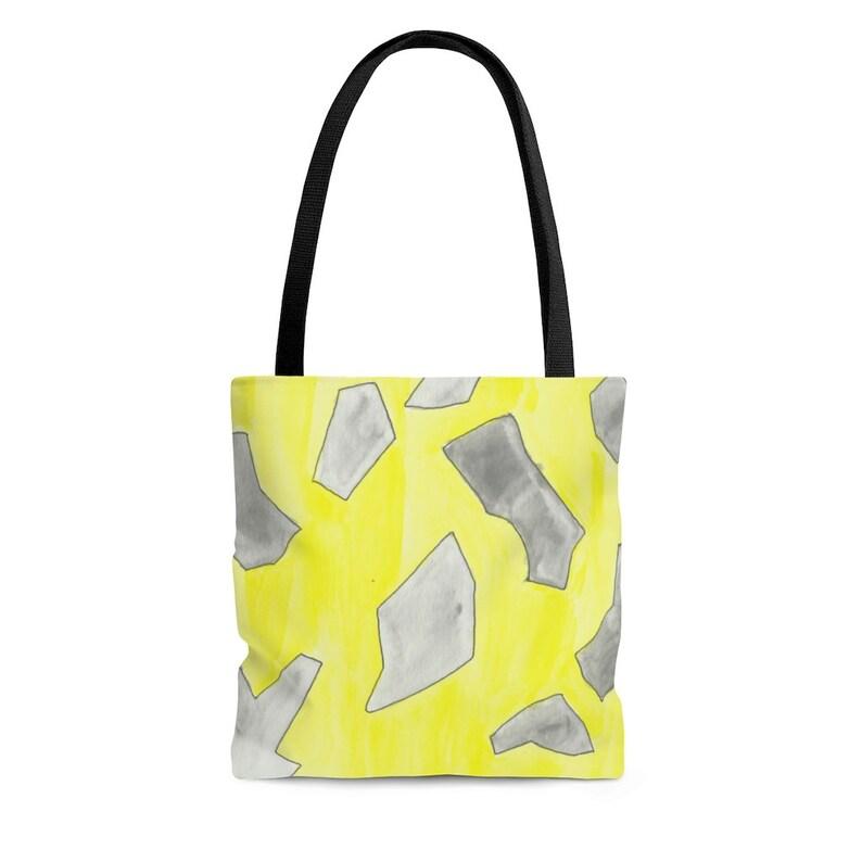 Urban Art Tote Bag 3 sizes 15  Retro custom gift aesthetic image 0