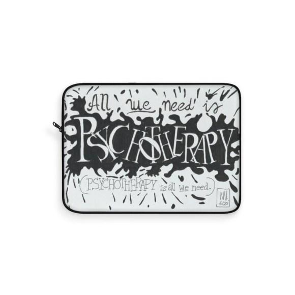 Urban Art Laptop Sleeve 24  Retro custom gift line art pop image 0