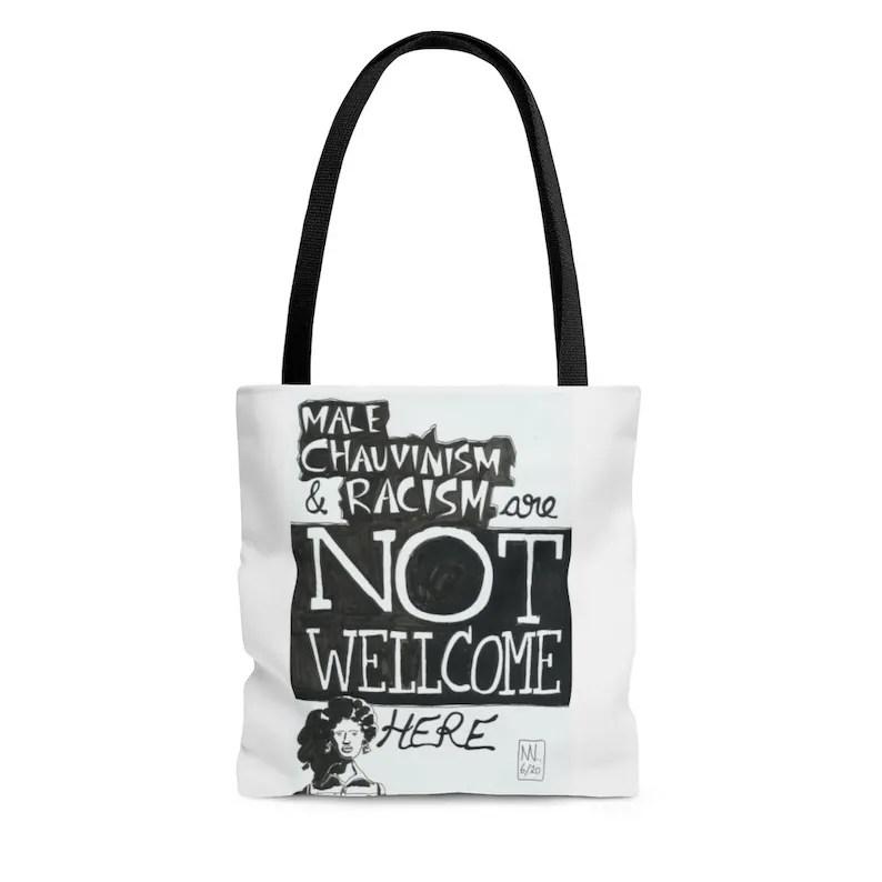 Urban Art Tote Bag 3 sizes 7  Retro custom gift aesthetic image 0