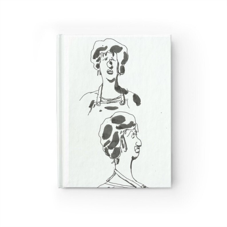 Blank Journal With Urban Art Cover 44  Retro custom gift image 0