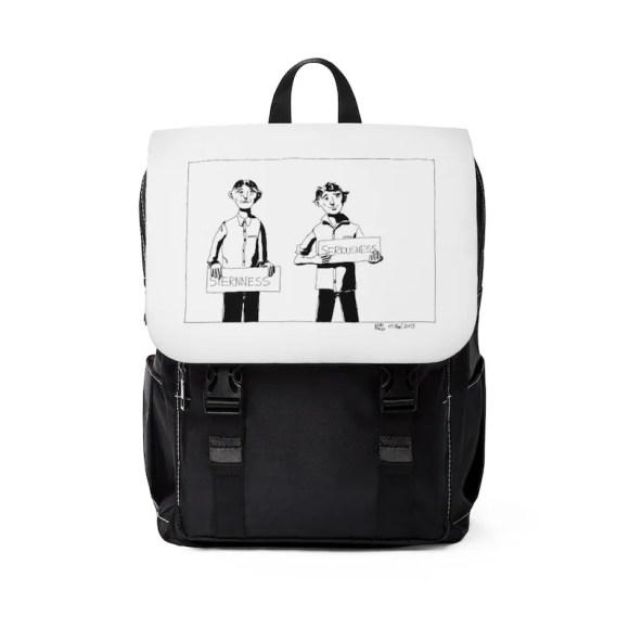 Urban Art Canvas Mini Backpack 4  Retro custom gift image 0