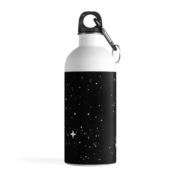 Cool Art Water Bottle 28  Retro custom gift pop art line image 0