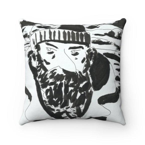 Urban Art Throw Pillows 21  Retro custom gift decorative image 0