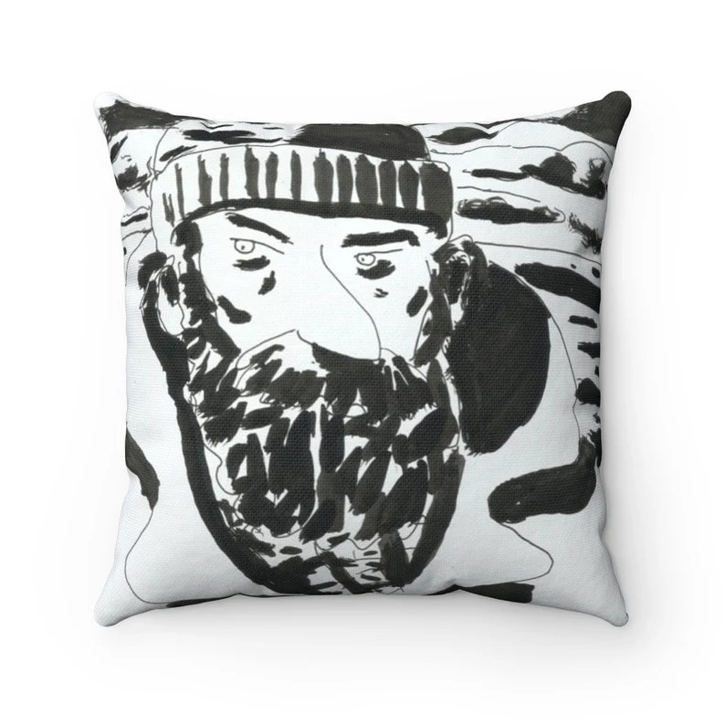 Urban Art Throw Pillows 21  Retro custom gift decorative image 0