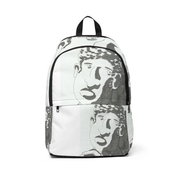 Urban Art Mid-sized Backpack 12  Retro custom gift image 0